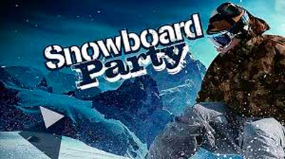 Snowboard-Party
